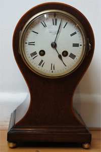 french antique baloon clock