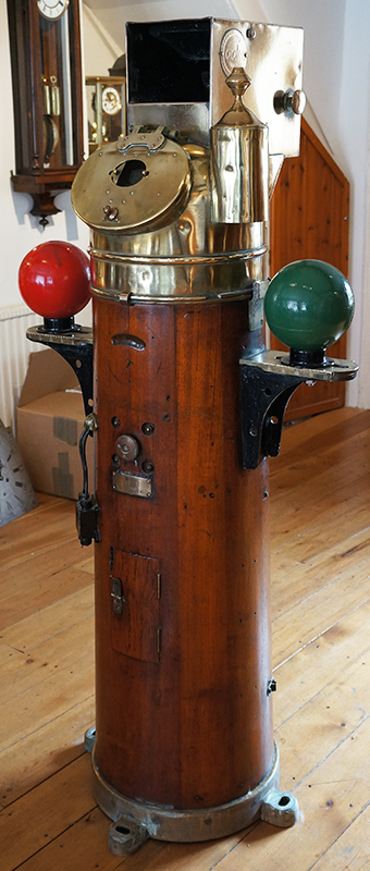antique ship's binnacle