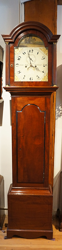 James Pike longcase clock