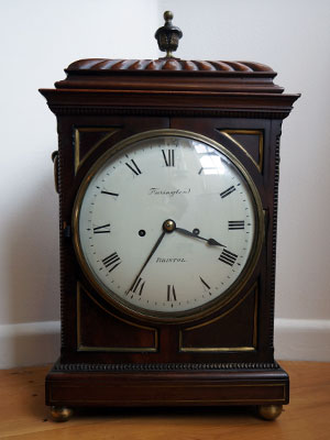French Ormalu antique bracket clock