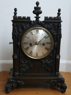double fusee bracket clock