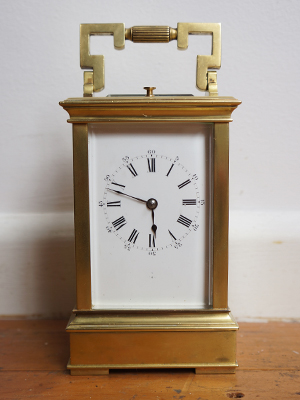 repreater carriage clock