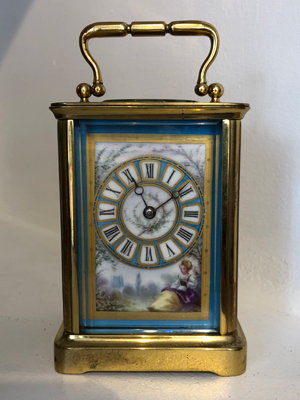 French bevres carriage clock