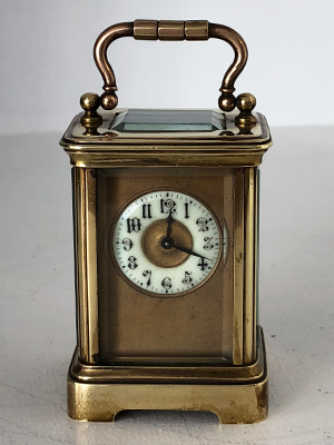 minature carriage clock