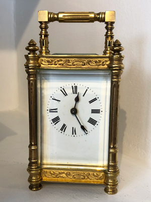 Lovely quality carriage clock