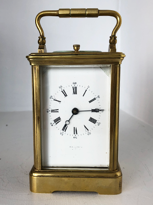 striking repeator carriage clock