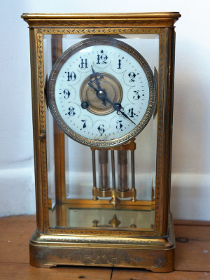 samuel marti four glass french carriage clock